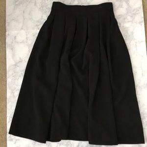 Black Full Skirt